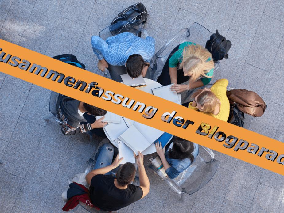 """Die Zusammenfassung der Blogparade zum Thema """"Wie sieht ein gelungenes Seminar aus?"""""""
