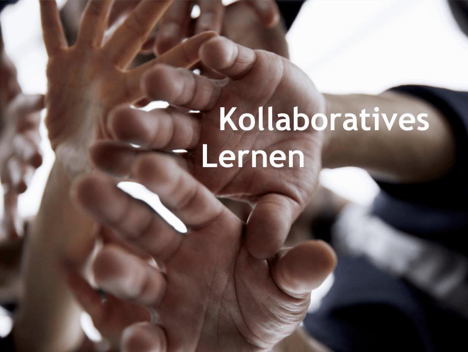 Viele Hände sollen Kollaboratives Lernen verbildlichen