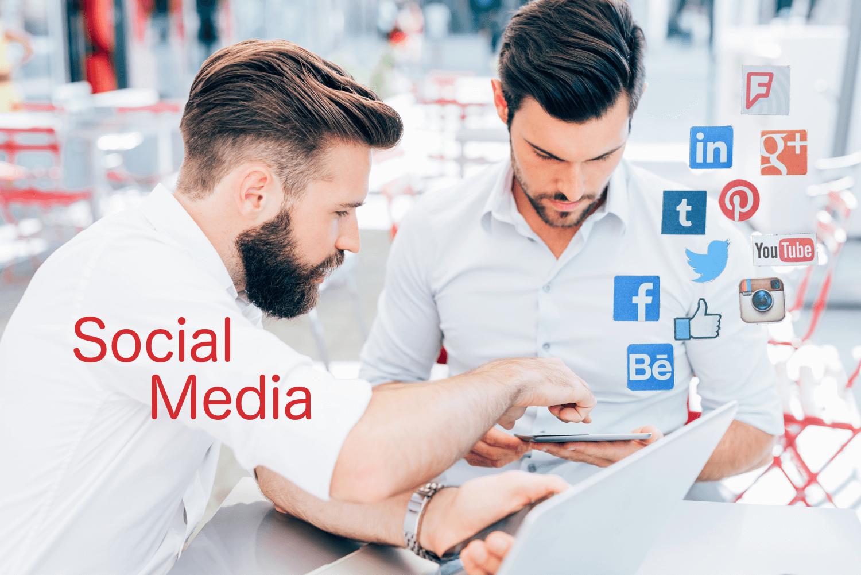 Social Media begegnet uns im Alltag und beim Lernen
