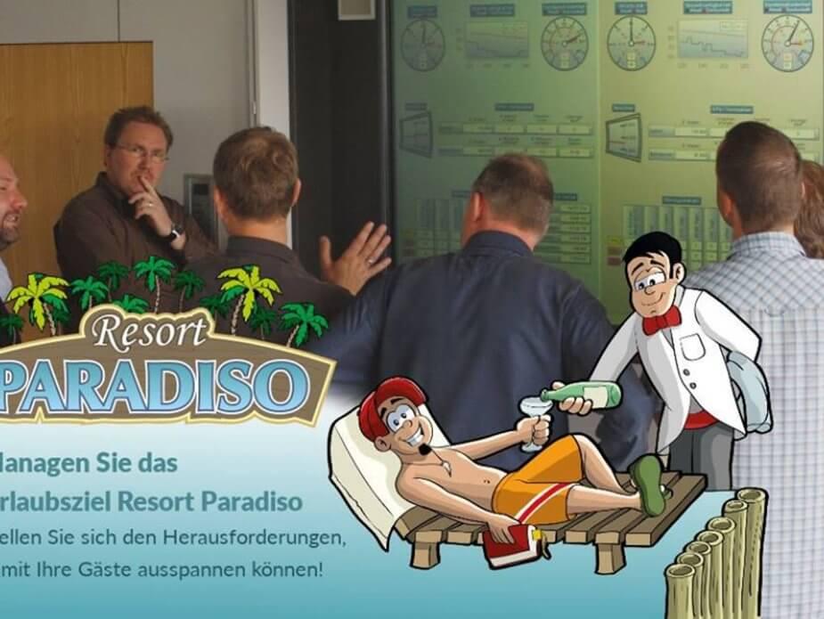 ITSM praktisch anwenden in der Simulation Resort Paradiso