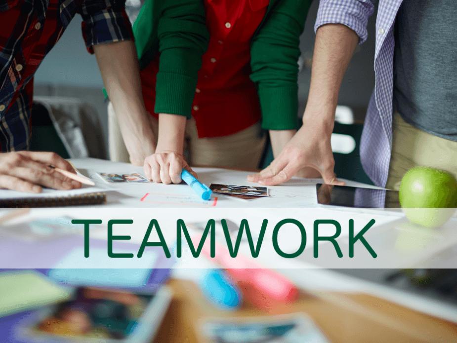 Unternehmenserfolg ohne Teamwork ist kaum denkbar