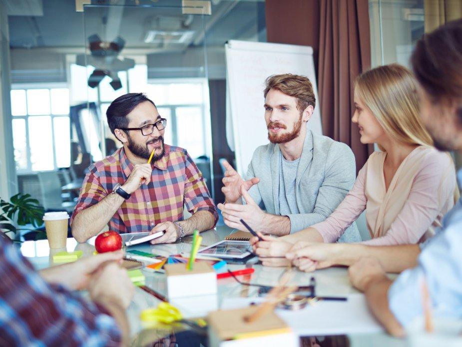 Produktivität hängt von der Mitarbeiterzufriedenheit ab