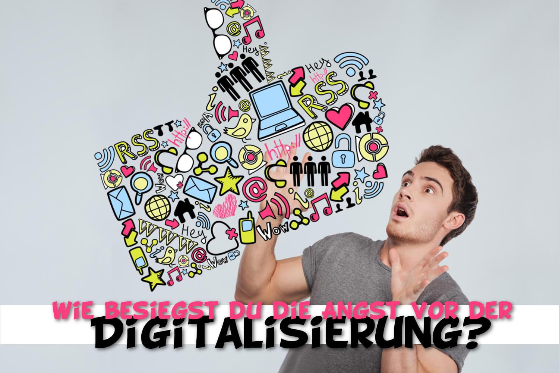 Viele Menschen haben Angst vor der Digitalisierung