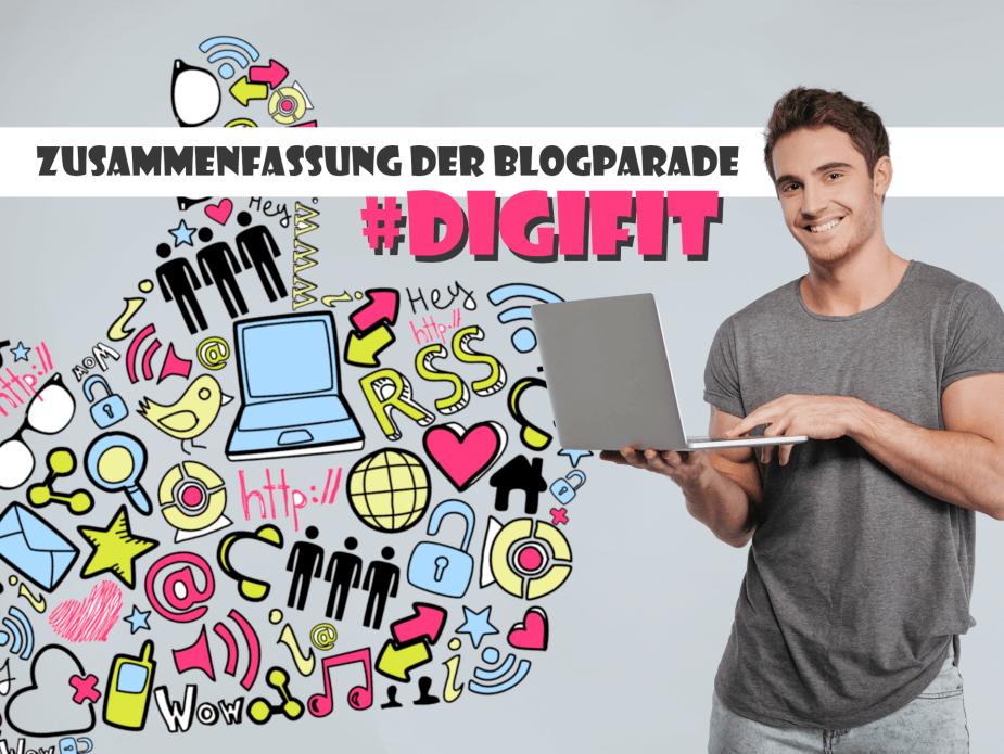 Die #digifit-Blogparade sammelte Ideen, um der Digitalisierung optimistisch entgegen zu sehen